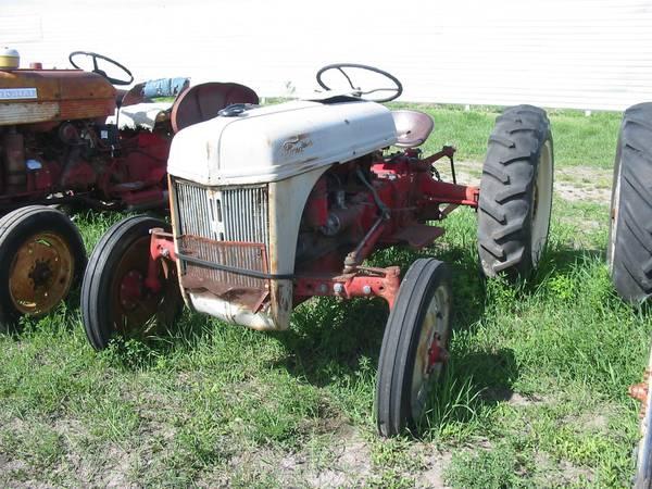 Ford 8N Tractor #8N197412 MILLER REPAIR, LLC MAXWELL