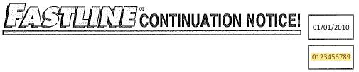 Continuation Notice