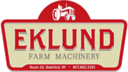EKLUND FARM MACHINERY, INC. Logo