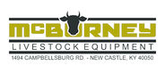MCBURNEYS LIVESTOCK EQUIPMENT Logo