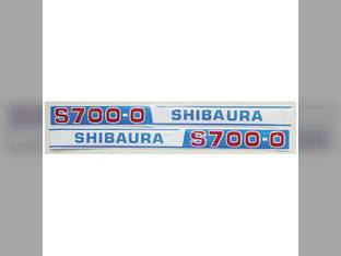 Decal Shibaura S700