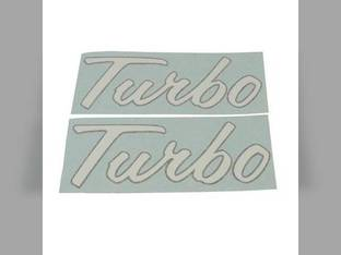 Turbo Decals International 1256 4186 4386 4786 1026 2504 1456 2500A 4568 4366 4166 4100