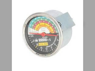 Tachometer Gauge - IH Logo International 660 560 460 375679R91