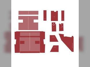 Cab Foam Kit less Headliner Red International 3388 3588 3788