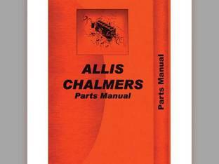 Parts Manual - 180 185 Allis Chalmers 185 185 180 180