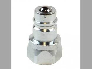 "Hydraulic Coupler - Quick Connect 3/4"" NPT Male Tip 1/2"" Body Size"