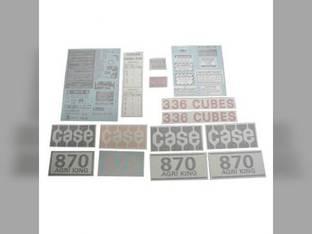 Decal Set - 870 / 1070 Case 870