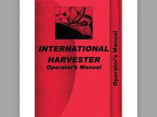 Operator's Manual - 656 International 656 656 656U 656U