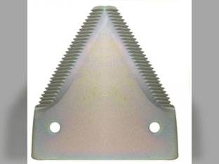 Sickle Section Shape 2 TS XH Plated 10 Pack Case IH 8380 8840 8830 5000 8370 5500 8360 8820 6000 8870 6500 4000 Hesston 1270 8400 6550 1170 1275 8200 New Holland 1499 499 1496 New Idea Gehl Versatile