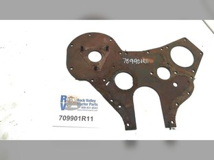 Plate-crankcase Frt