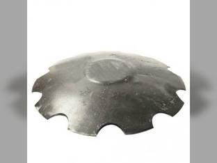 "Disc Blade 22"" Notched Edge 7 Gauge 1-1/8"" Square Axle Raised Flat Center"