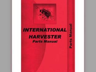 Parts Manual - 756 2756 International 2756 2756 756 756