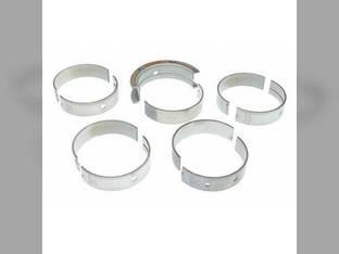 """Main Bearings - .010"""" Oversize - Set White 2-180 4-270 4-210 4-180 4-225 4-150 4-175 9N3056 Caterpillar 3208"""