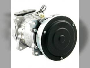 Air Conditioning Compressor - w/Clutch Vertical Pad Fitting Ford 7740 8240 6640 7840 5640 8340 F0NN19D629AB
