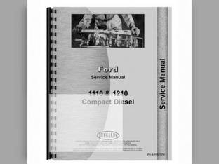 Service Manual - 1110 1210 Ford 1210 1110
