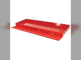 Feeder House Floor Sheet - Rear With Out Rock Trap Case IH 7120 AFX8010 8120 9120 7010 8010 87730307