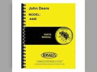 Parts Manual - 4440 John Deere 4440 4440