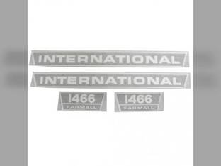 Decal Set - Hood & Model International 1466