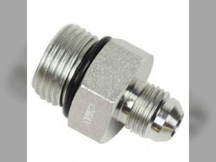 """Hydraulic Adapter - Straight 3/8"""" Tube OD JIC 37° Male x 5/8"""" - 14 Male O-Ring Boss"""