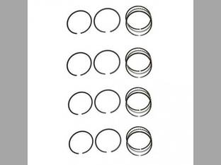 "Piston Ring Set - .030"" Oversize - 4 Cylinder Minneapolis Moline BF BG Hercules IXB3"