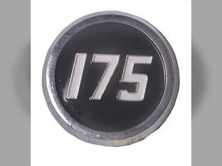 Hood Side Emblem Massey Ferguson 175 194846M2