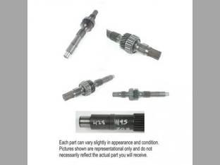 Used Hydraulic Pump Input Shaft International Hydro 70 Hydro 70 666 666 2656 2656 656 656 Hydro 86 Hydro 86 2444 2444 544 544 2544 2544 396081R11