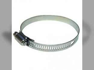 """Hose Clamp - Worm Style 1-1/2"""" to 2-1/2"""""""