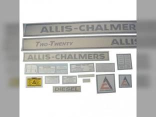 Decal Set Allis Chalmers 220