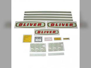 Tractor Decal Set 995 Early Diesel Mylar Oliver 995