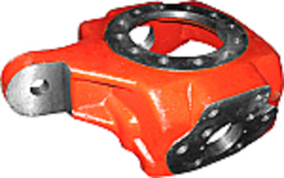 Carrier Housing - Left Hand, ZF Axle