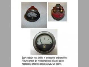 Used Fuel Gauge White Face International 4586 1568 1466 4386 766 1066 1468 966 4568 4366 Hydro 100 1566 H142794