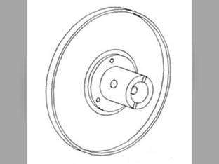 Fan Drive Outer Pulley Case IH 1644 2388 1666 2344 1660 2577 1688 6088 2377 1680 5088 7088 2366 2188 2144 2166 2588 1640 1541553C1