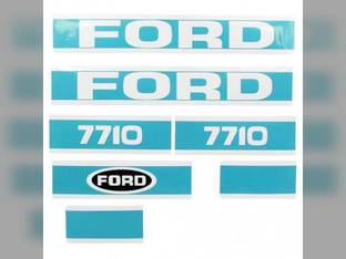 Decal Set Ford 7710 83928799