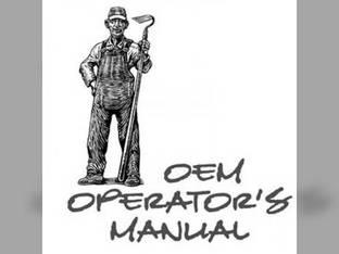 Operator's Manual - L2600 L3000 Kubota L3000 L2600