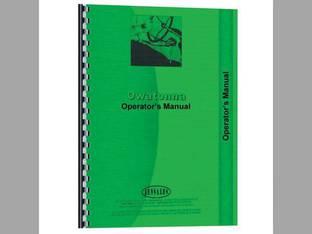 Parts Manual - 1700 Owatonna 1700