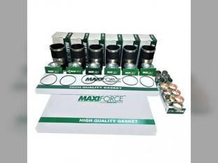 Engine Rebuild Kit - Less Bearings - Long Liner Case IH 2188 MX200 7240 7220 8950 9330 MX180 8910 2388 8940 2155 9310 8930 8920 2166 7230 2366 MX220 7250 Cummins 6CTA8.3 6CT8.3 Massey Ferguson 8570