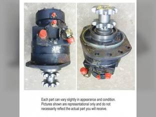 Used Hydrostatic Drive Motor Case 445 435 87035452