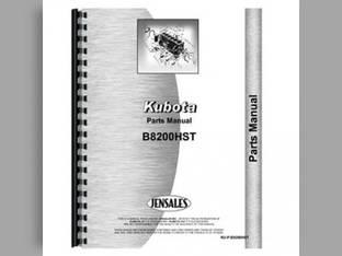 Parts Manual - B8200HST Kubota B8200