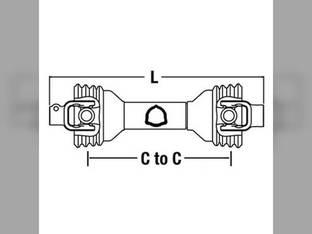 Universal PTO Driveline Post Hole Digger CS34412 ECC3442 PM14006252 14006252