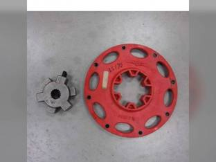 Used Flex Plate and Drive Hub Assembly New Holland L565 L215 L160 L170 LX565 LS150 L213 LS160 LS170 L150 LX665 Case SR150 SR130 87670983