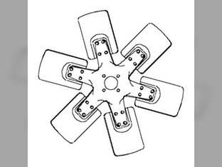 Fan Blade - 6 Massey Ferguson 285 1085 530177M1