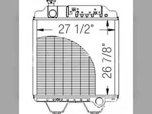 Radiator Ford 8770 86012173