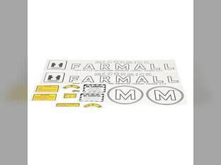 Mylar Decal Set - Farmall & M International M
