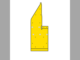 Corn Head, Skid Shoe, Poly