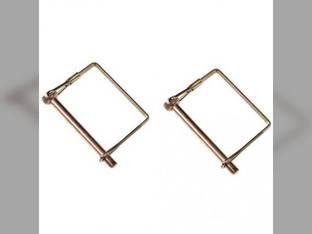 """Wirelock Pin 1/4"""" x 2 1/2"""" x 2 7/8"""" Square Lock 2 Pack"""