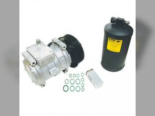 Air Conditioning Compressor Kit - w/Clutch John Deere 8200 8110 8310 8400 8300 8100 8210 8410