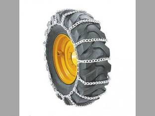 Skid Steer Loader Tire Chains - Ladder Chains Every 2 Links 8.3 x 24 - Sold in Pairs