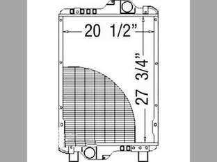 Radiator Case IH MXM175 MXM190 82033525 New Holland TM175 TM190 82033525