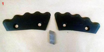 TMR Mixer Knives :: Botec • MonoMixer • Kuhn Knight • LuckNow