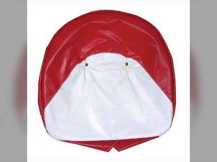 "Pan Seat Cushion - 19"" Economy Red & White Ford 4130 7600 5000 2610 6600 4110 8N 4600 2600 4100 3000 2120 2110 4140 4000 5600 2000 3600 International 460 400 350 M 300 Massey Ferguson 50 30 135 35"